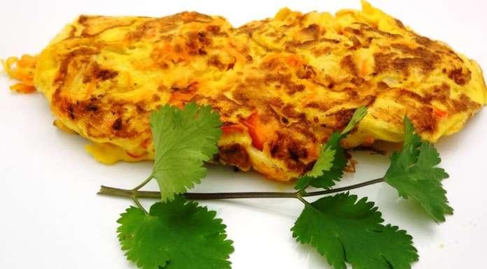 Omelette coleslaw 0