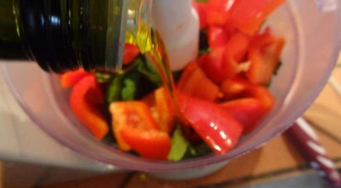 Ensalada de frijoles rojos con salsa Chimichurri 3