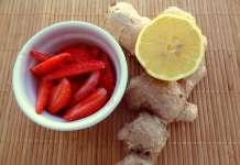 Fraises gingembre et citron