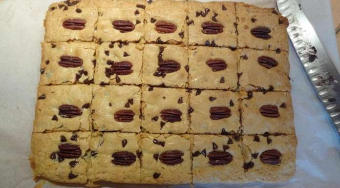 Carrés noix de pécan chocolat 10