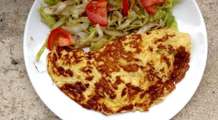 Mon omelette salée sucrée 00