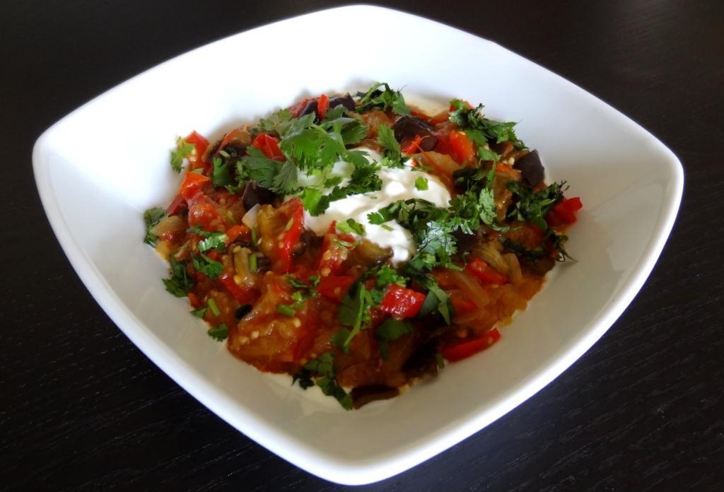 aubergines au yaourt recette afghane