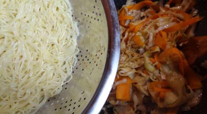 Wok de nouilles et légumes à l'asiatique 10