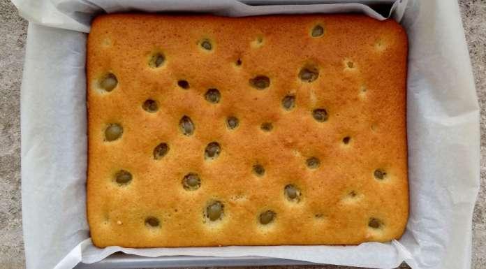 recette du gâteau aux raisins frais - la tendresse en cuisine