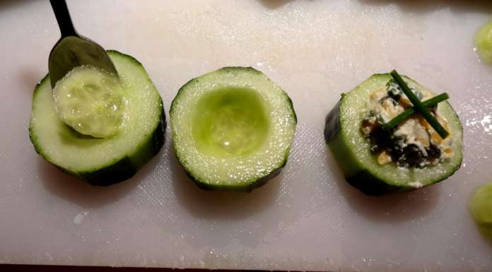 Stuffed cucumber 5