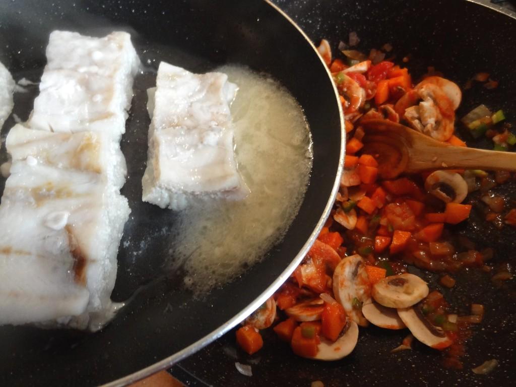 Riz au poisson et lait de coco la tendresse en cuisine - Riz lait de coco ...