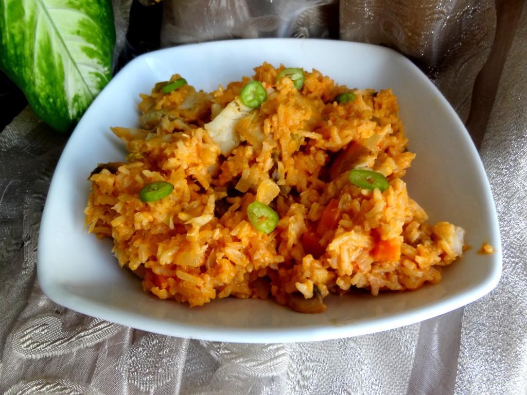 Riz au poisson et lait de coco blogs de cuisine - Riz lait de coco ...