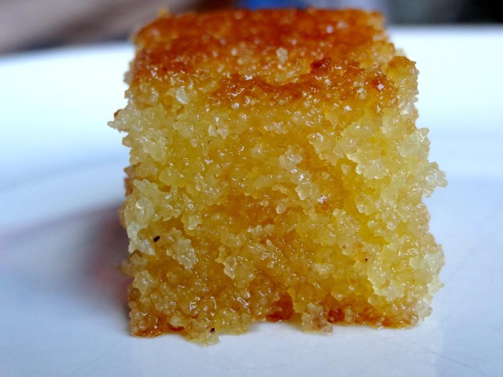 Gateau Cake Au Semoule