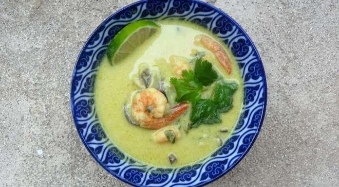 soupe aux crevettes thaï