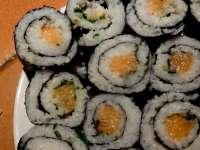 Sushis makis au saumon