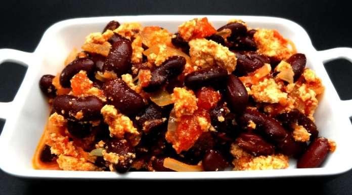 Tofu aux haricots rouges la tendresse en cuisine - Cuisiner haricot rouge ...