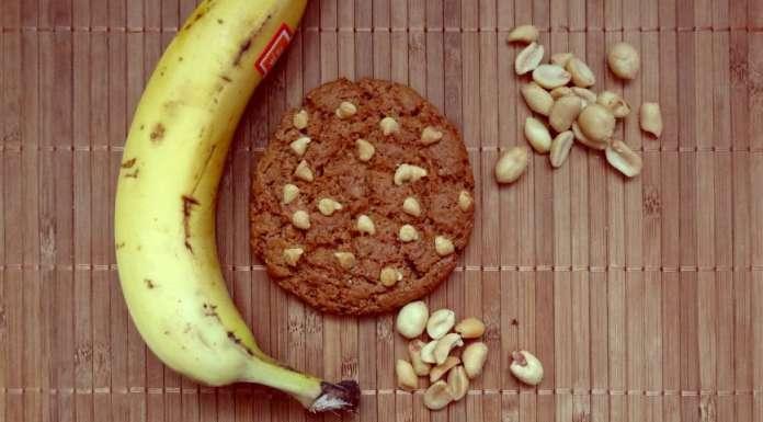 Cookies au beurre de cacahuète et banane 0