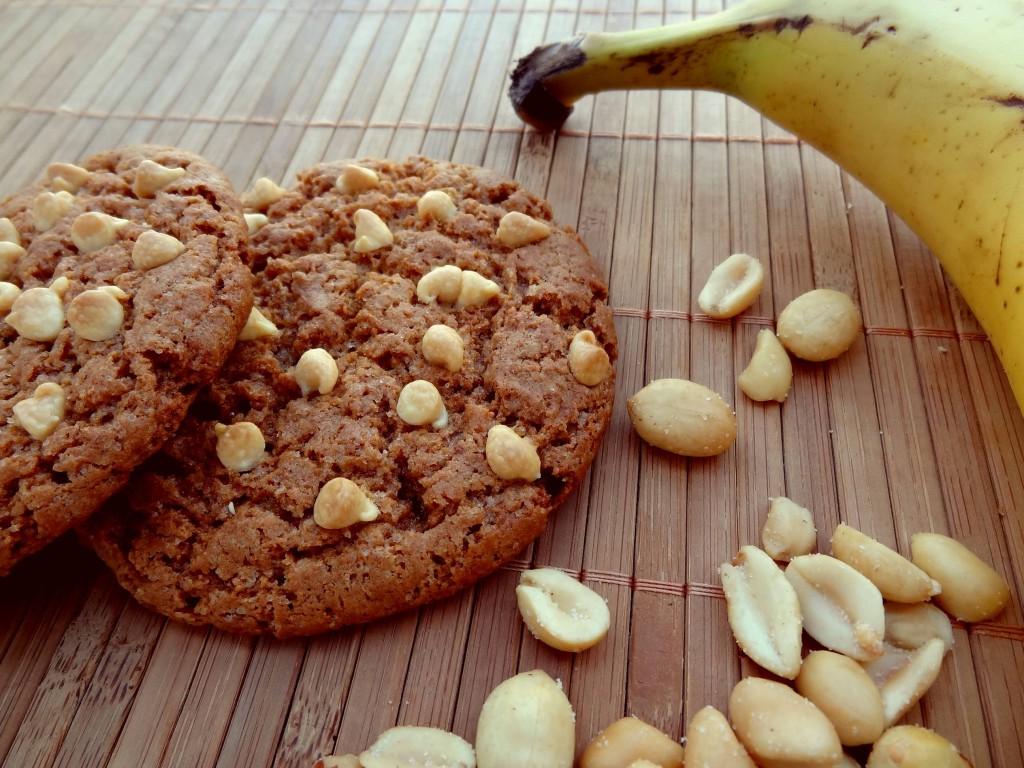 Cookies au beurre de cacahu te et banane - Cookies beurre de cacahuete ...