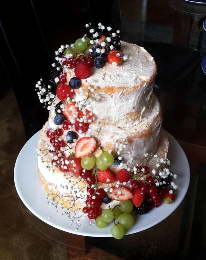 G 226 Teau De Mariage Naked Cake La Tendresse En Cuisine