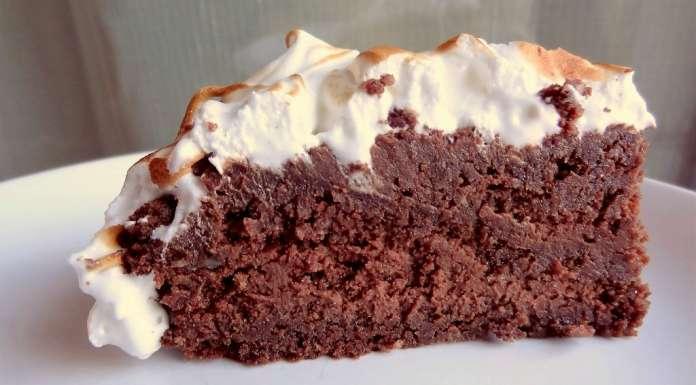 Fondant au chocolat meringué sans gluten et sans lactose 0
