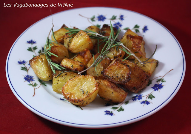 Pommes de terre de Saint-Marin rôties au thym