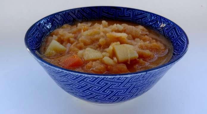 soupe de choucroute