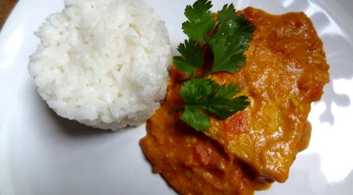 curry de poisson à la moutarde