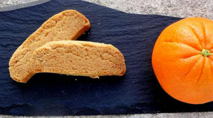 biscuits à l'orange et à l'huile d'olive