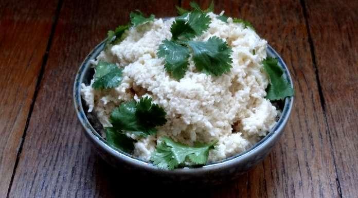 salade d'oeufs de chou-fleur