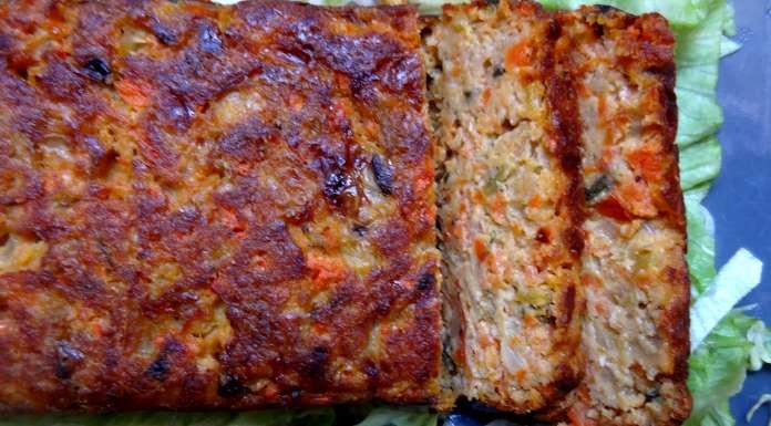 pain de légumes aux noisettes