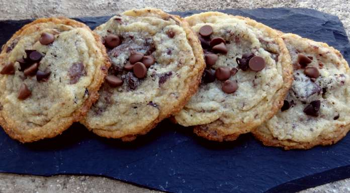 Cookies chocolat cranberries fenouil
