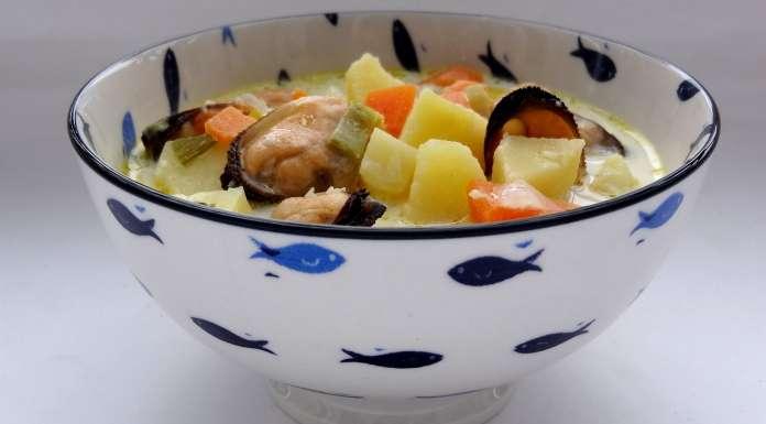 soupe aux moules