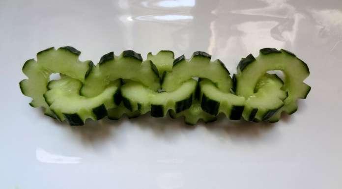 concombre écrous