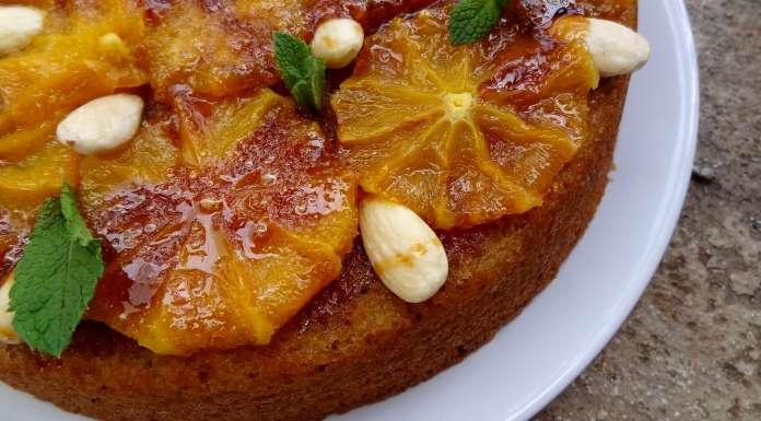 gâteau aux quinoa amandes et oranges