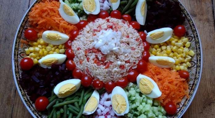 salade marocaine maroc la tendresse en cuisine. Black Bedroom Furniture Sets. Home Design Ideas