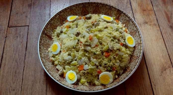 Couscous aux l gumes vapeur amekfol kabylie for Cuisine kabyle