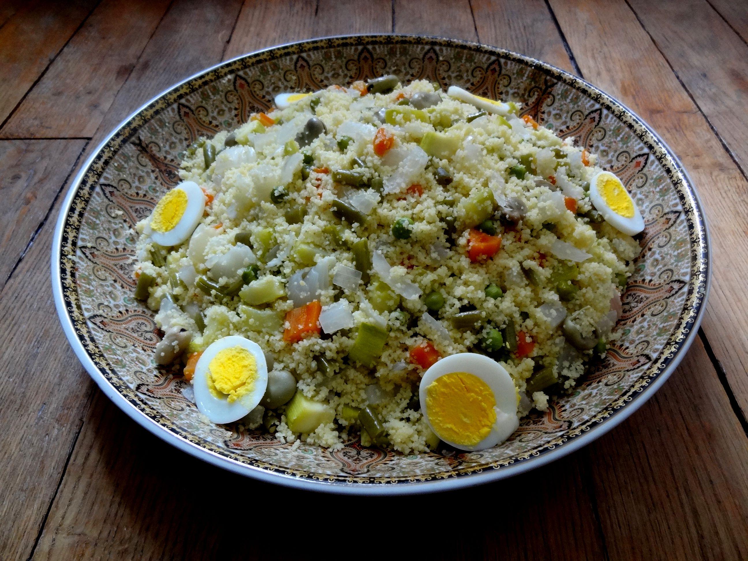 Couscous Aux Légumes Vapeur Amekfoul Kabylie