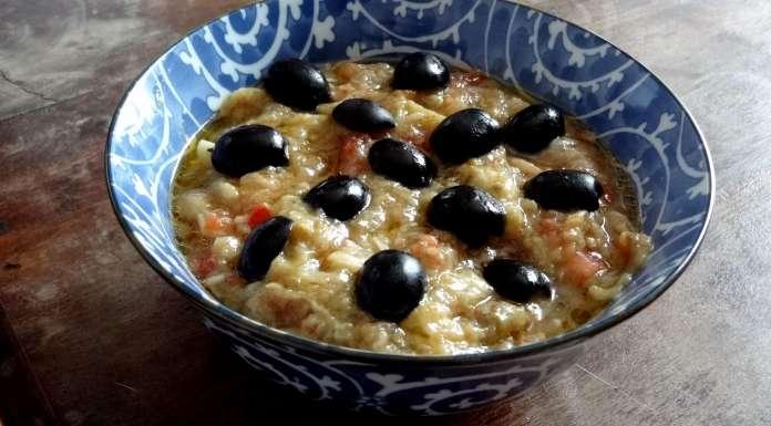 caviar d'aubergine à la grecque