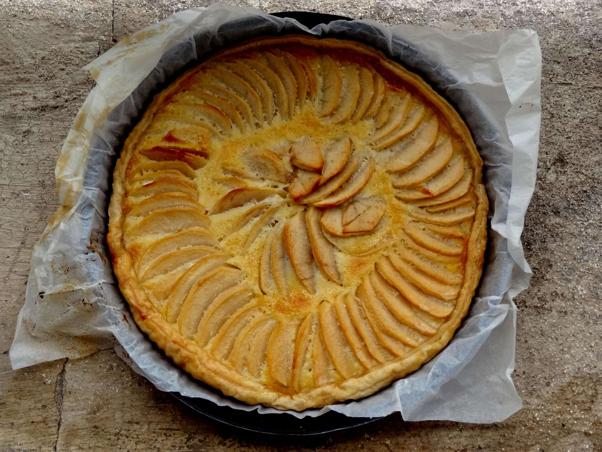 Cake Aux Pommes Cr Ef Bf Bdme