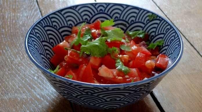 salade tomates et oignon