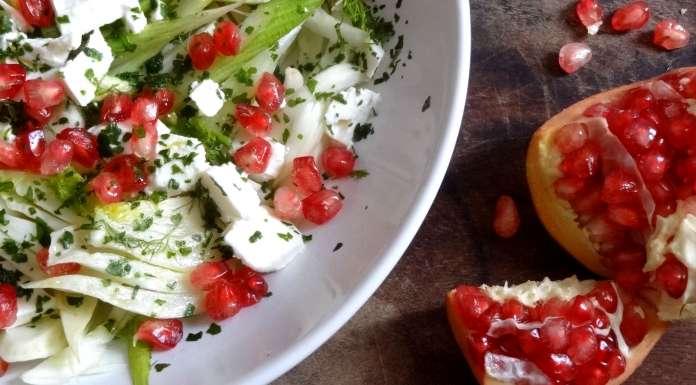 salade de fenouil à la grenade