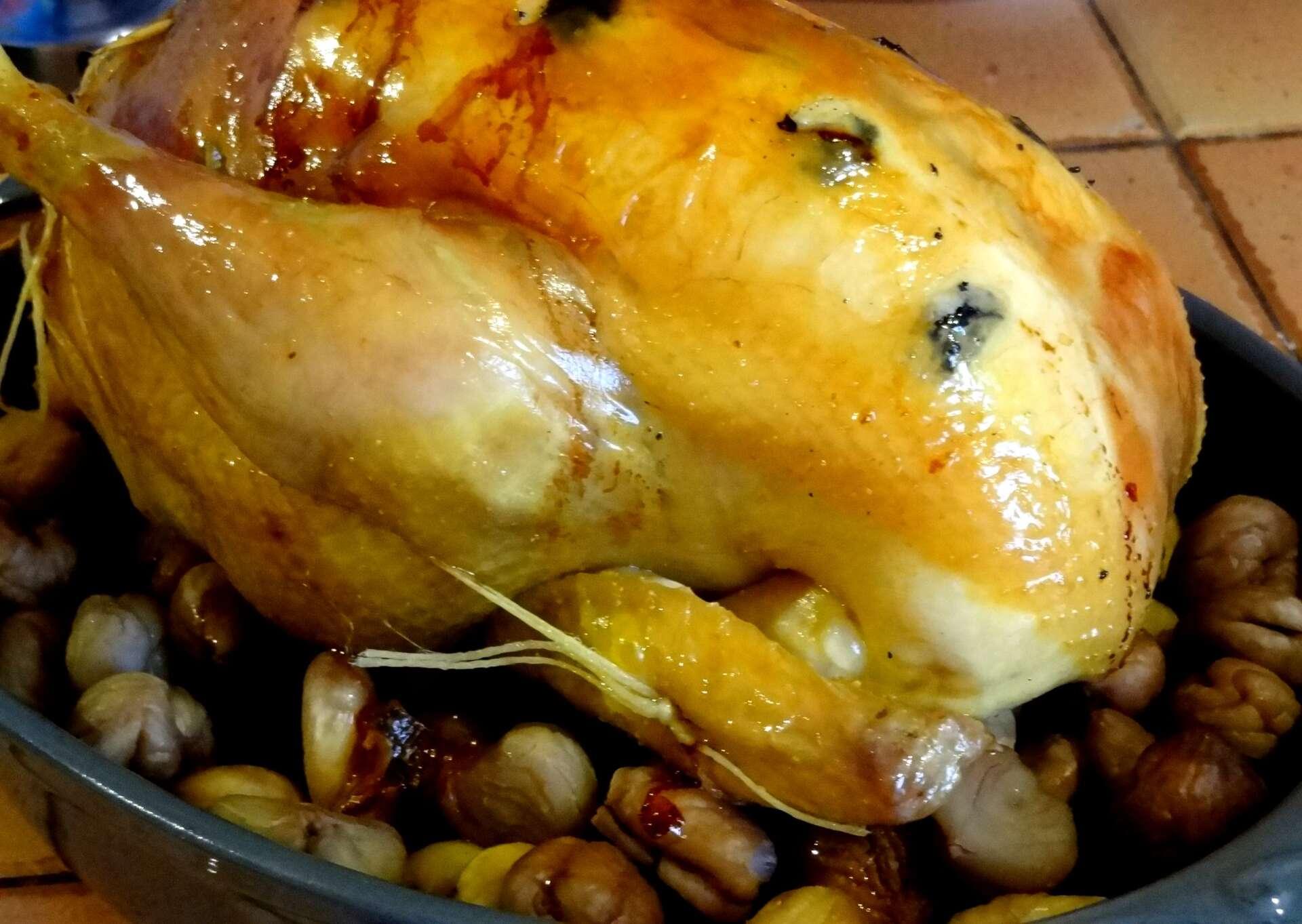 Poularde truff e et farcie la tendresse en cuisine - Cuisiner la veille pour le lendemain ...