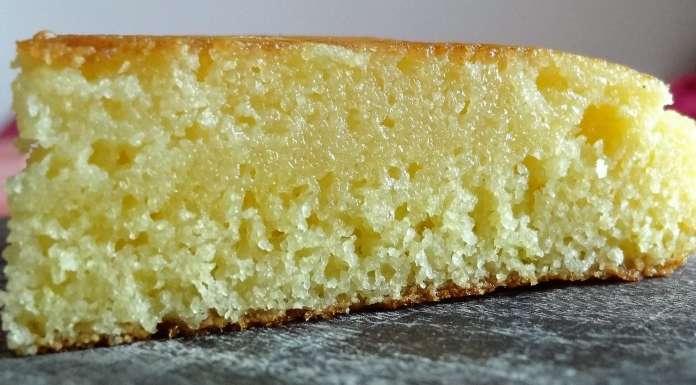 gâteau de semoule à la poêle