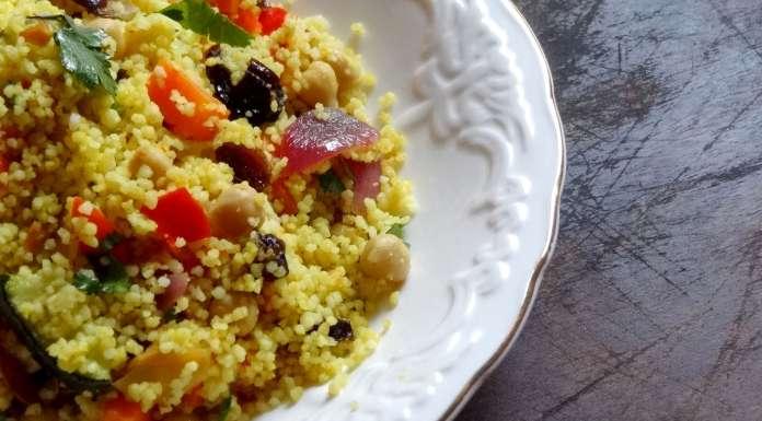 couscous aux légumes grillés