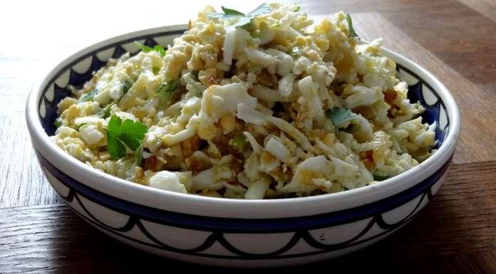salade d'oeufs