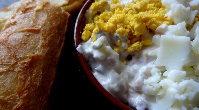 harengs acidulé au yaourt