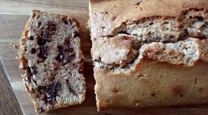 Gâteau à la farine de châtaigne et chocolat