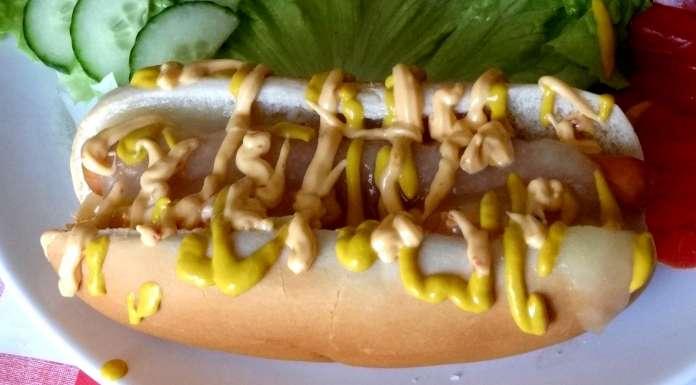 hot-dog à l'ananas