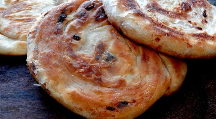 pain feuilleté aux oignons