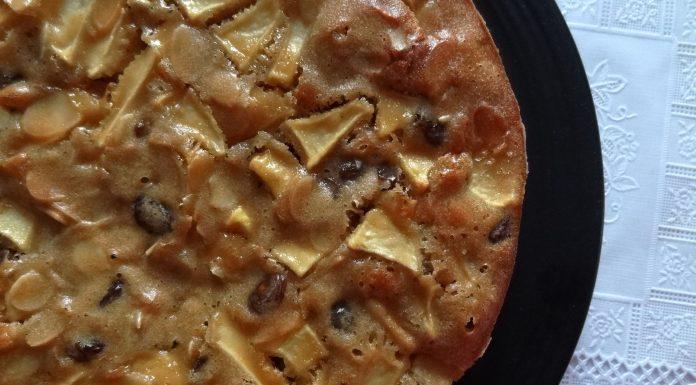 Gâteau tadjik aux pommes