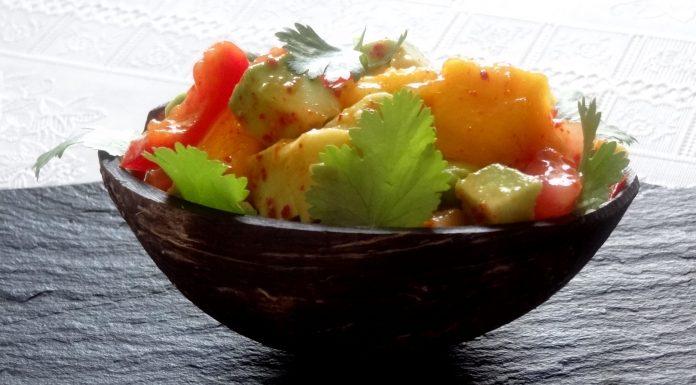 salade de fruits et légumes du Guatemala