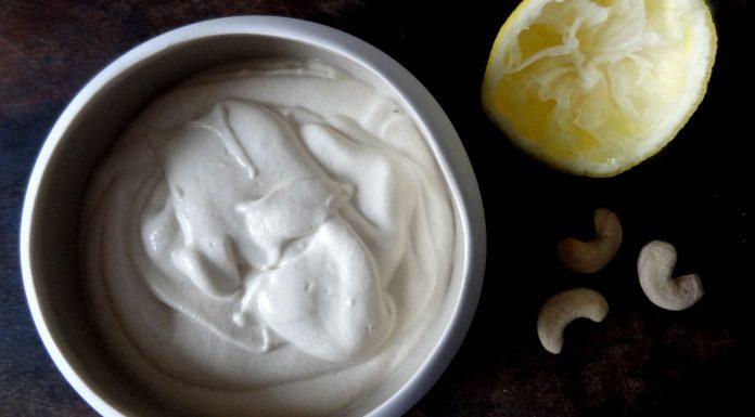 crème fraîche végétale