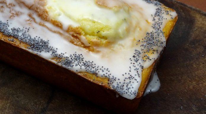 gâteau au lait concentré sucré citron pavot